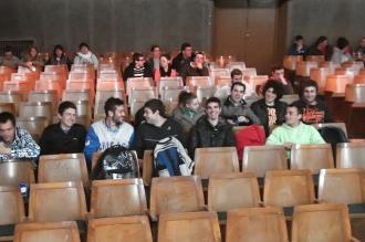 Algunos de los asistentes al acto