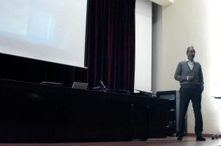 Durante la conferencia